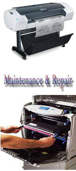 hp plotters repair in delhi